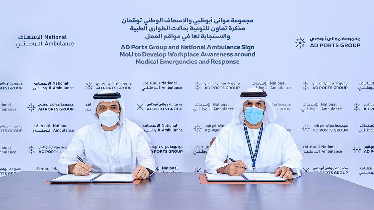 AD Ports Group, National Ambulance Boost Medical Response Awareness