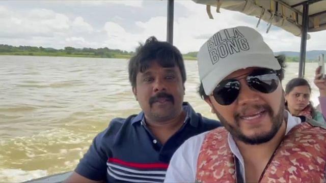 ಜಾಲಿ ಮೂಡ್ನಲ್ಲಿ ಗೋಲ್ಡನ್ ಸ್ಟಾರ್ ಗಣೇಶ್..!