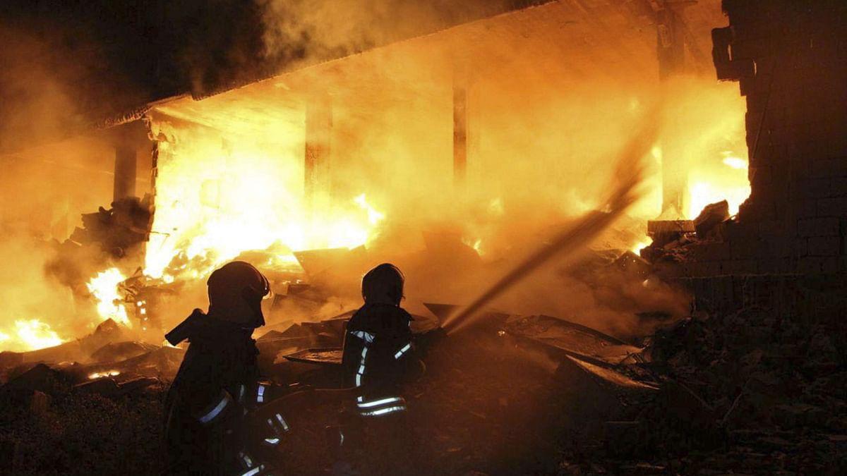 राष्ट्रीय राजधानी में चार स्थानों पर आग लगी