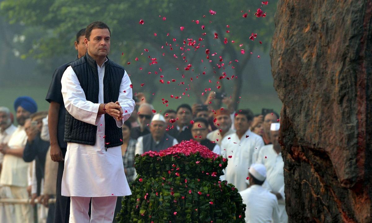 इंदिरा गांधी की पुण्यतिथि पर प्रधानमंत्री मोदी, पूर्व प्रधानमंत्री मनमोहन सिंह और सोनिया गाँधी ने दी श्रद्धांजलि