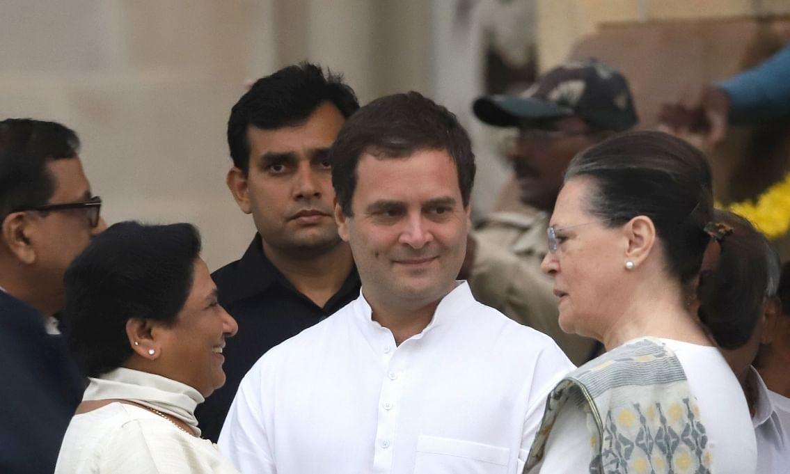 राहुल गाँधी ने बसपा और कांग्रेस के गठबंधन की संभावना जताई