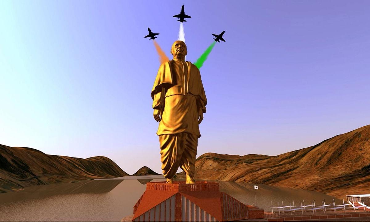 भाकपा का सवाल, बीजेपी ने महात्मा गांधी की बड़ी प्रतिमा क्यों नहीं बनाई?