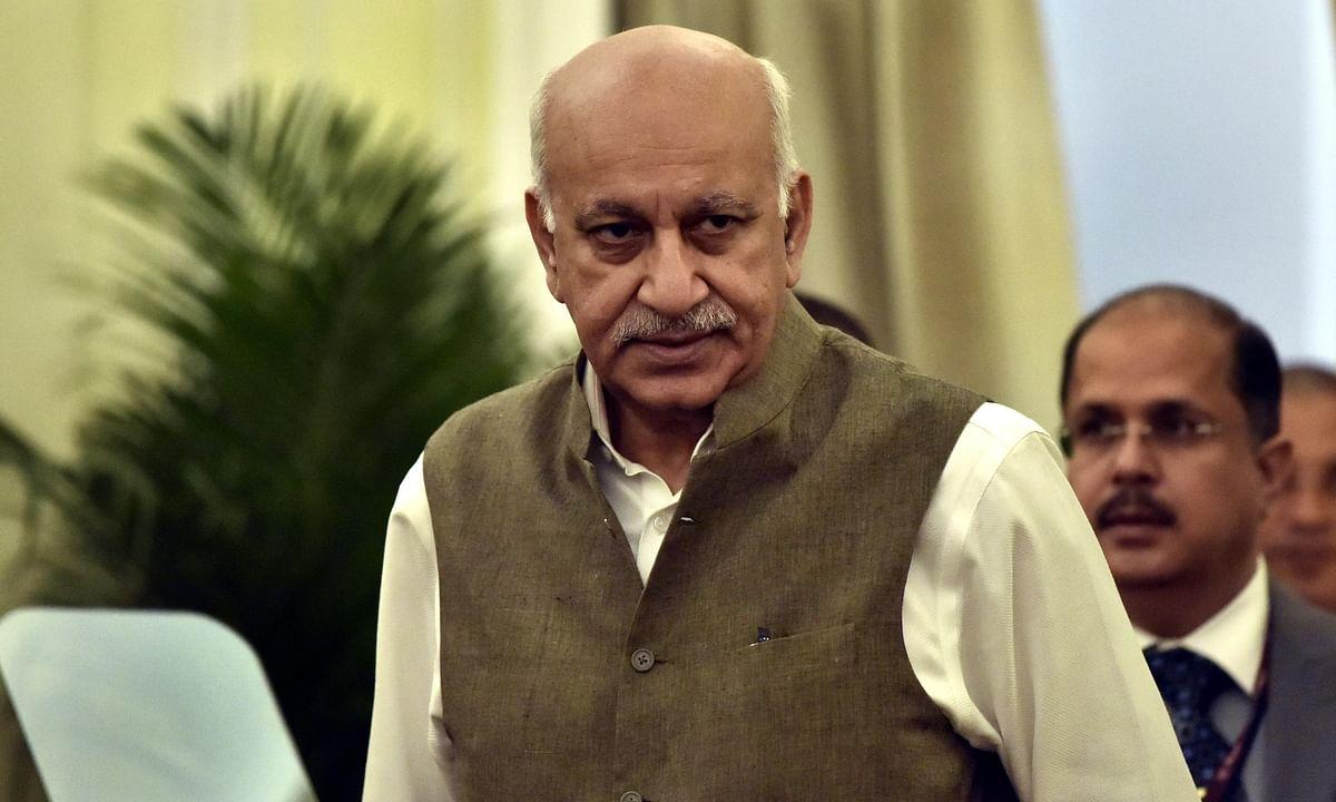 कांग्रेस ने राज्यसभा सदस्य और केंद्र में विदेश राज्यमंत्री एम.जे.अकबर का इस्तीफा मांगा