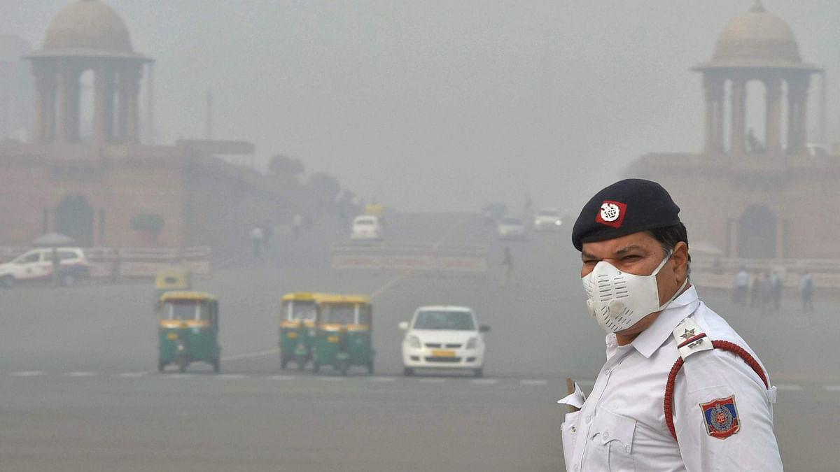 प्रदूषित हवा