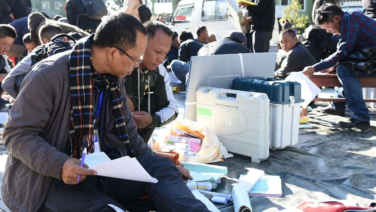 Mizoram Assembly Election 2018 polls, मिजोरम विधानसभा चुनाव के लिए मतदान जारी