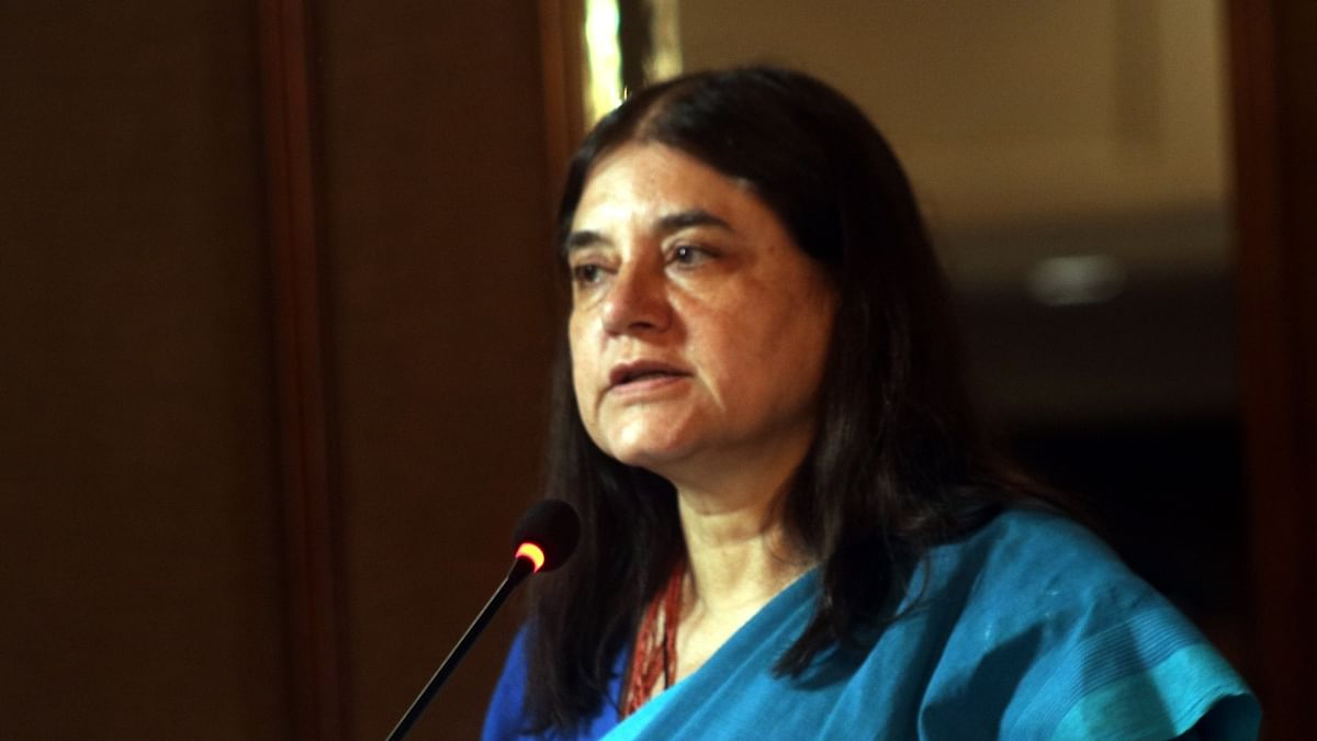 केंद्रीय महिला एवं बाल विकास मंत्री मेनका गांधी