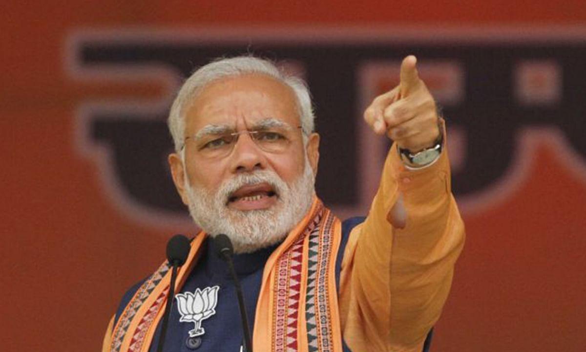 मध्य प्रदेश विधानसभा चुनाव 2018: कांग्रेस ने देशद्रोह, किसानद्रोह जैसे काम किए : मोदी