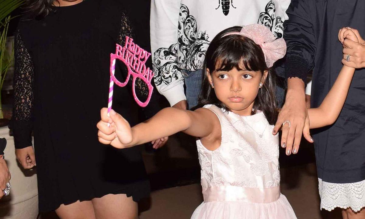 अमिताभ ने पोती आराध्या को जन्मदिन पर दुआएं दी