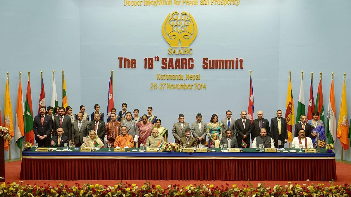 आखिरी सार्क शिखर सम्मेलन 2014 में काठमांडू में आयोजित किया गया था