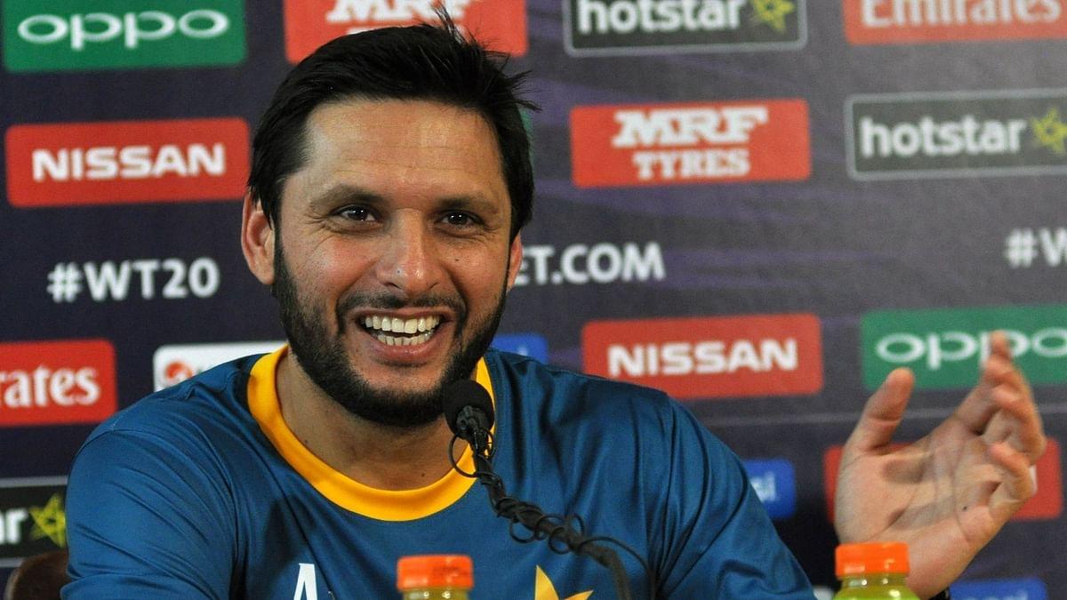 पाकिस्तान के पूर्व क्रिकेटर शाहिद अफरीदी