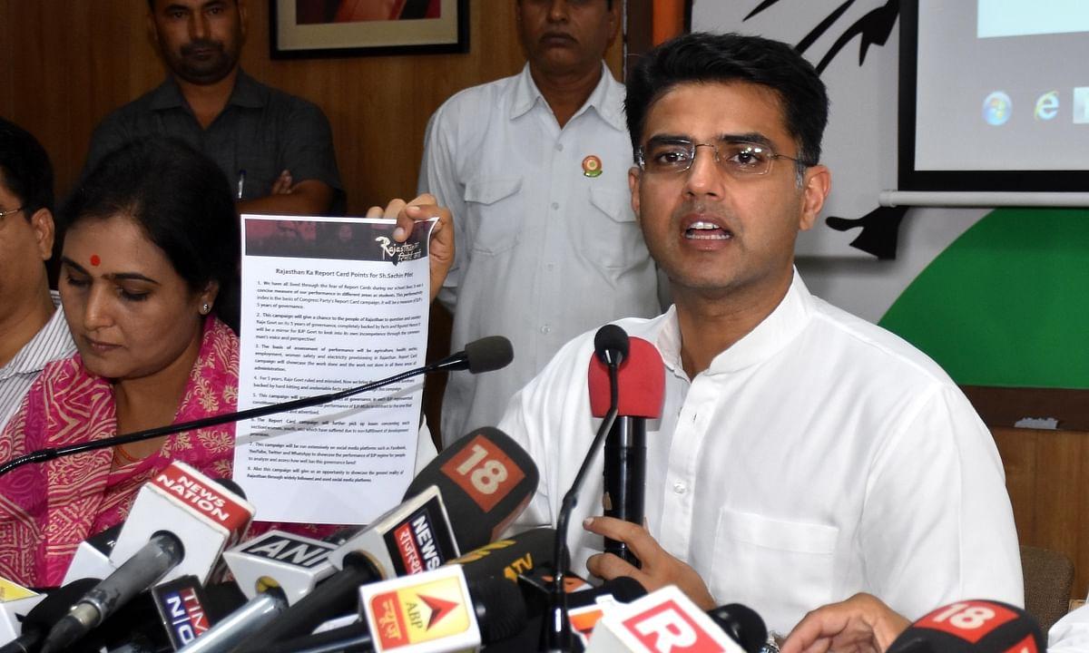 राजस्थान में कांग्रेस की जीत पक्की, सचिन पायलट को मिला टोंक के नवाबों का समर्थन