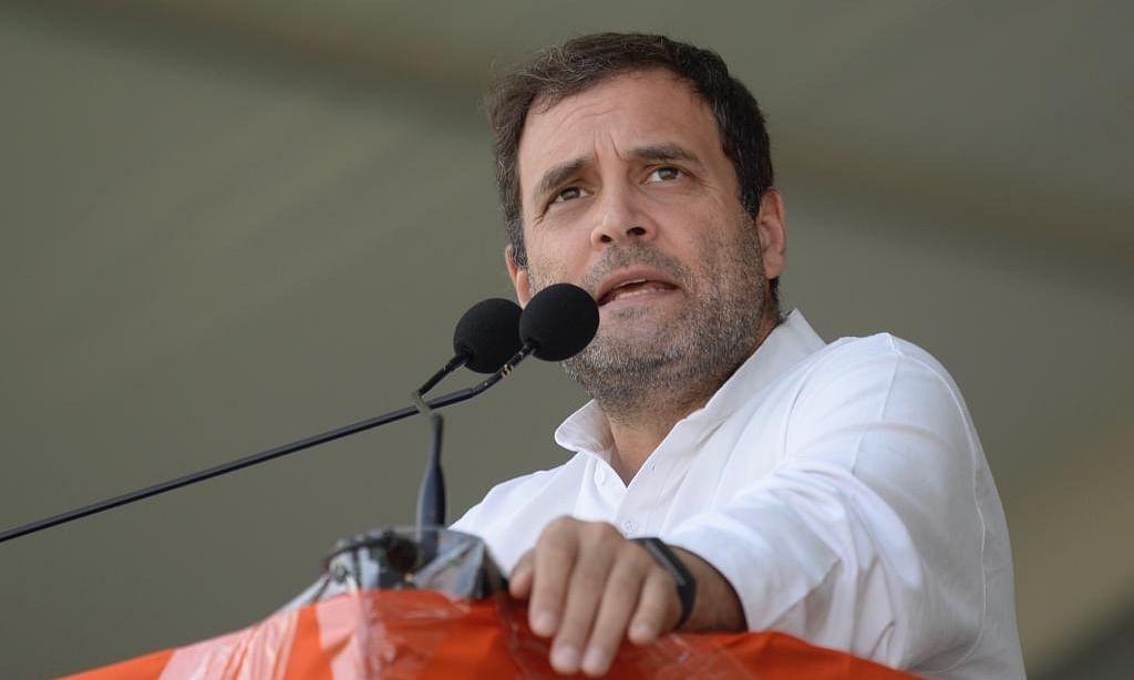 तेलंगाना विधानसभा चुनाव 2018: 'BJP' और 'RSS' की टीम-बी है 'TRS' - राहुल गांधी