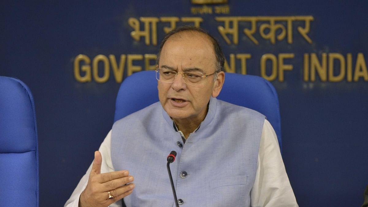 वित्त मंत्री अरुण जेटली (Arun Jaitley, finance Minister)