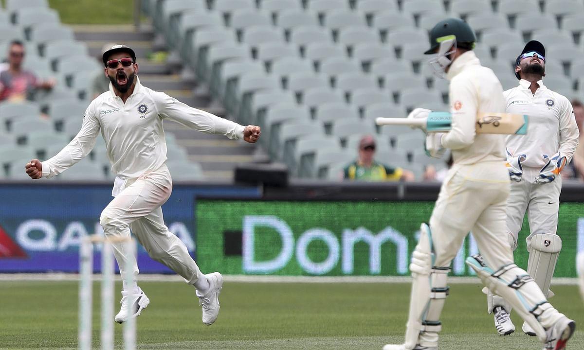 IND vs AUS, 2nd Test, Day 2: कोहली, रहाणे के अर्धशतकों से भारत की अच्छी स्थिति, भारत दूसरे दिन 3 पर 172 रन