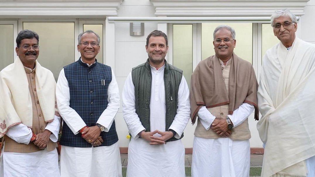 राहुल गांधी ने ट्विटर पर शेयर की के छत्तीसगढ़ मुख्यमंत्री की फोटो