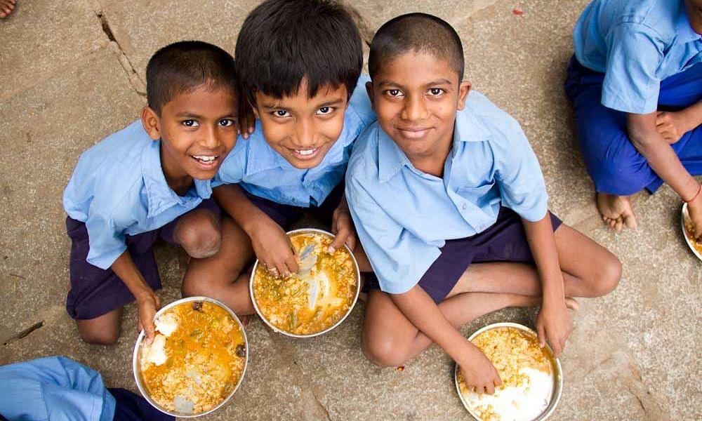 Akshaya Patra Foundation mid day meal