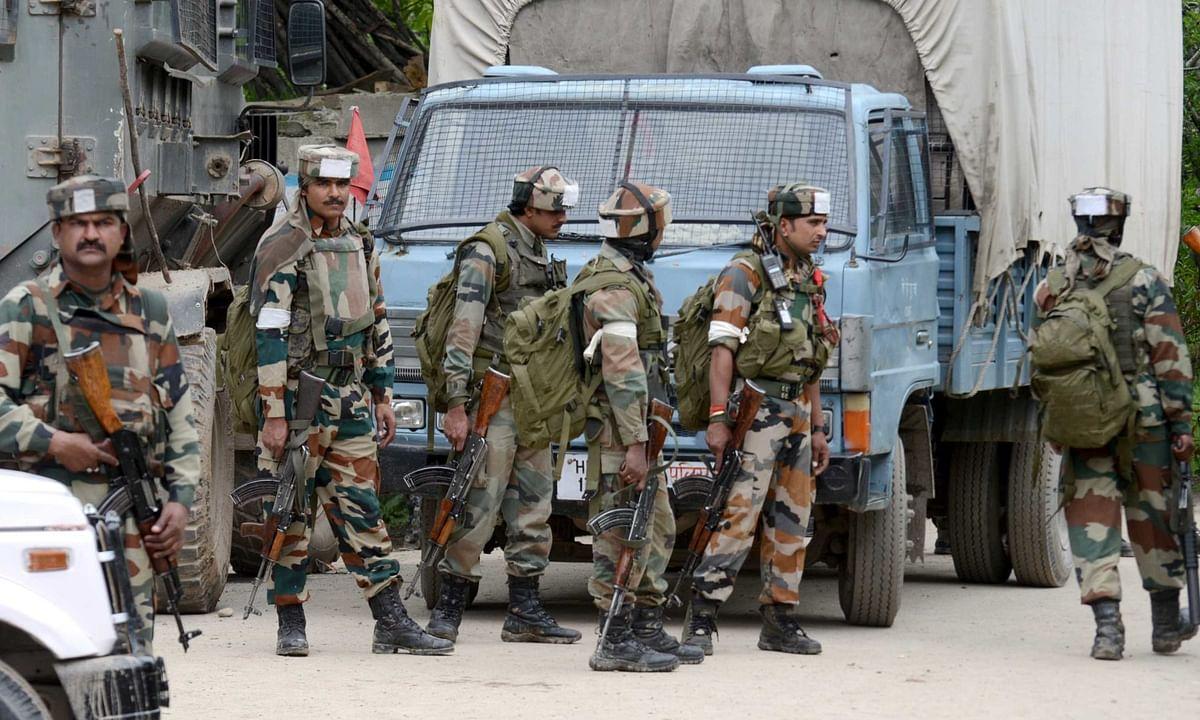 जम्मू एवं कश्मीर मुठभेड़ में 6 विदेशी आतंकी आतंकवादी ढेर