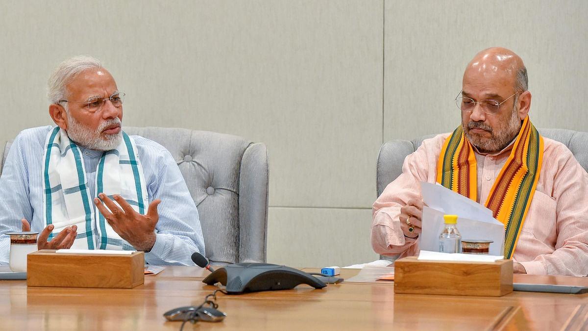 प्रधानमंत्री नरेंद्र मोदी और बीजेपी अध्यक्ष अमित शाह