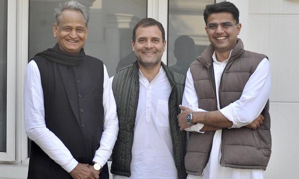 राजस्थान: तजुर्बे और युवा चेहरे के बीच राहुल ने चुना बीच का रास्ता,अशोक गहलोत बने  मुख्यमंत्री और सचिन पायलट उप-मुख्यमंत्री
