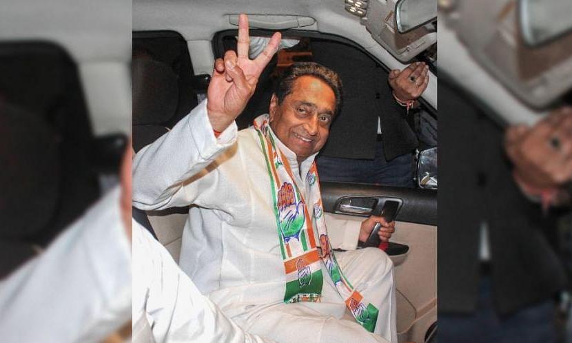 """मध्यप्रदेश में खिला """"कमल"""" इंदिरा के तीसरे 'बेटे' """"कमलनाथ"""" को कांग्रेस ने सौंपी मध्य प्रदेश की कमान"""