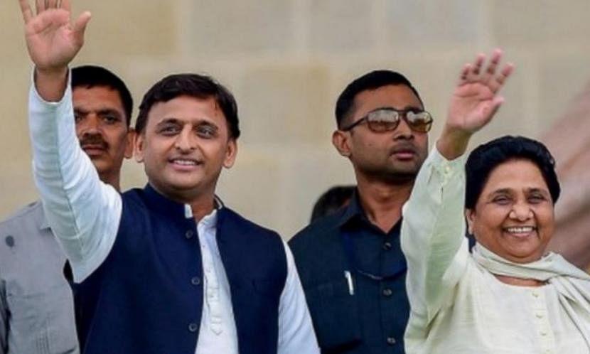 लोकसभा इलेक्शन 2019 : 'बुआ-बबुआ' एक साथ, अकेला रह गया राहुल का 'हाथ' परंतु फिर भी बीजेपी सबसे ज्यादा उदास!