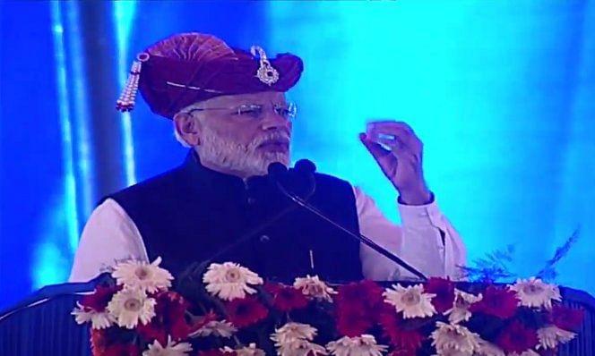 सिलवासा में PM Modi का गांधी परिवार पर हमला, कहा हमारी नीयत देश के विकास की है एक परिवार के विकास की नहीं