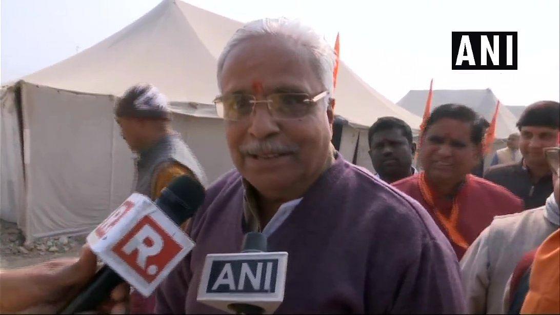 अयोध्या में राम मंदिर पर आरएसएस के महासचिव भैयाजी जोशी