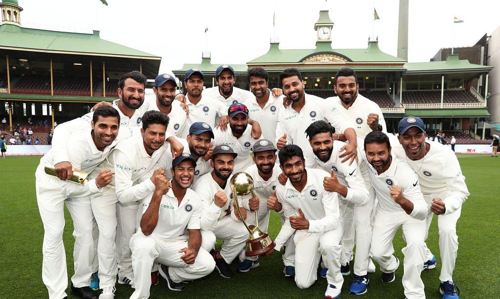 भारत ने आस्ट्रेलिया में रचा इतिहास, टेस्ट मैच श्रृंखला जीतने के बाद टीम इंडिया ने किया जबरदस्त डांस