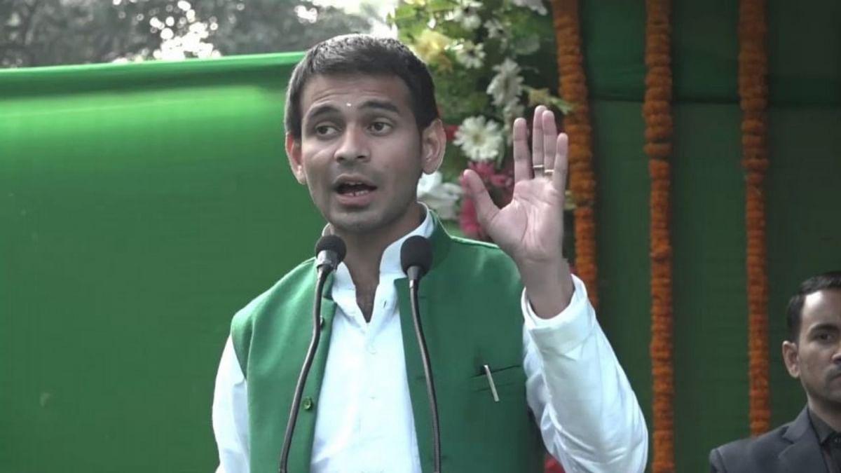 बिहार के पूर्व स्वास्थ्य मंत्री तेजप्रताप