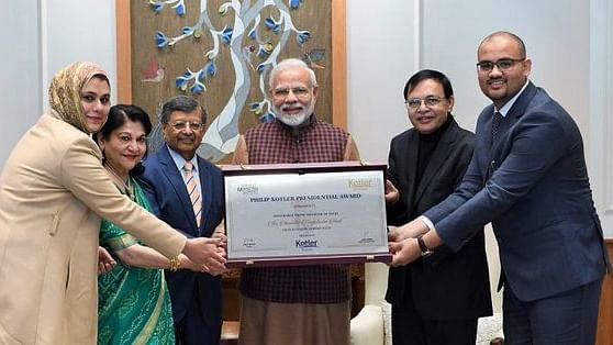 PM Modi के 'फिलिप कॉटलर प्रेसीडेंशियल अवार्ड' का राहुल ने उड़ाया मजाक