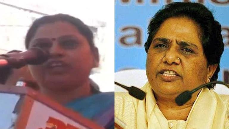 मायावती पर टिप्पणी के लिए भाजपा नेता साधना को नोटिस