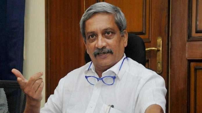 मुख्यमंत्री मनोहर पर्रिकर ( Goa CM Manohar Parrikar)