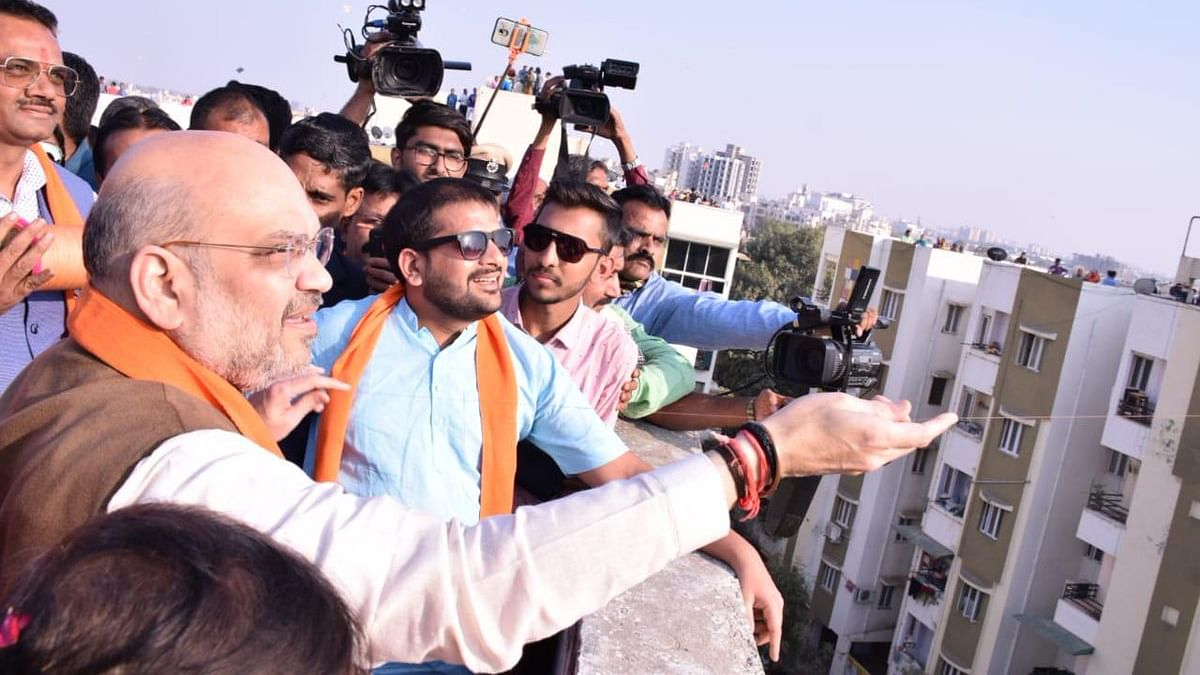 BJP अध्यक्ष अमित शाह Swine Flu से पीड़ित