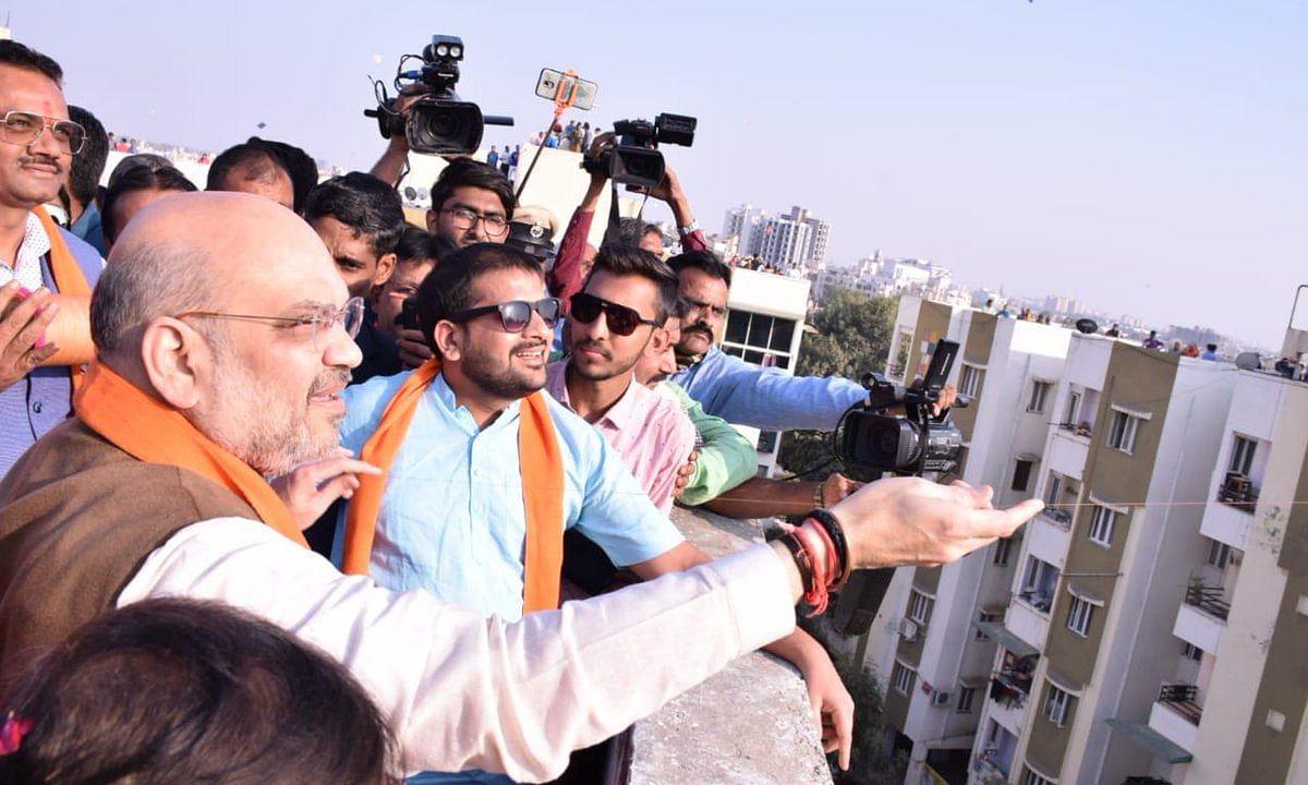 BJP अध्यक्ष अमित शाह Swine Flu से पीड़ित, खतरे में BJP का चुनावी अभियान