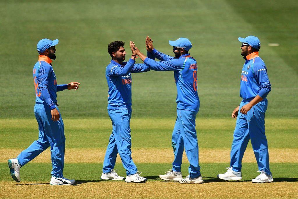 भुवनेश्वर कुमार ने 4 विकेट झटका