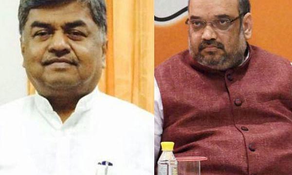 स्वाइन फ्लू से ग्रसित अमित शाह का कांग्रेस नेता बीके हरिप्रसाद ने उड़ाया मजाक
