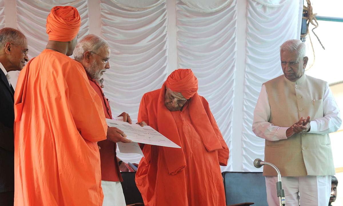 पद्म भूषण और कर्नाटक रत्न पुरस्कार से सम्मानित 111 वर्षीय लिंगायत संत शिवकुमार स्वामीजी का निधन