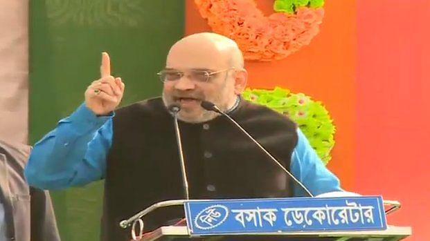 बीजेपी अध्यक्ष अमित शाह मालदा दौरे पर (Amit Shah In Malda)
