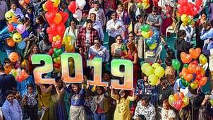 नववर्ष के आगमन पर दिल्ली में जमकर हुई आतिशबाजी