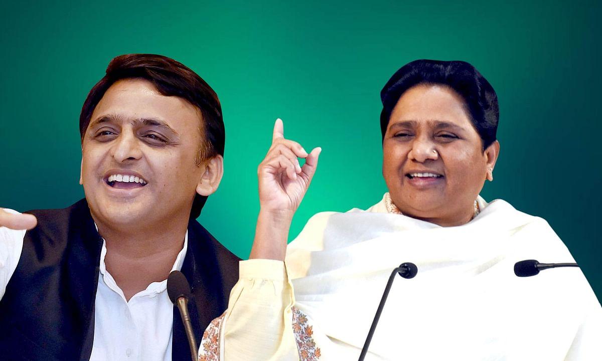 कांग्रेस को किनारा दिखा  कर, UP में अखिलेश और मायावती के बीच हुआ 80 सीटों का बटवारा