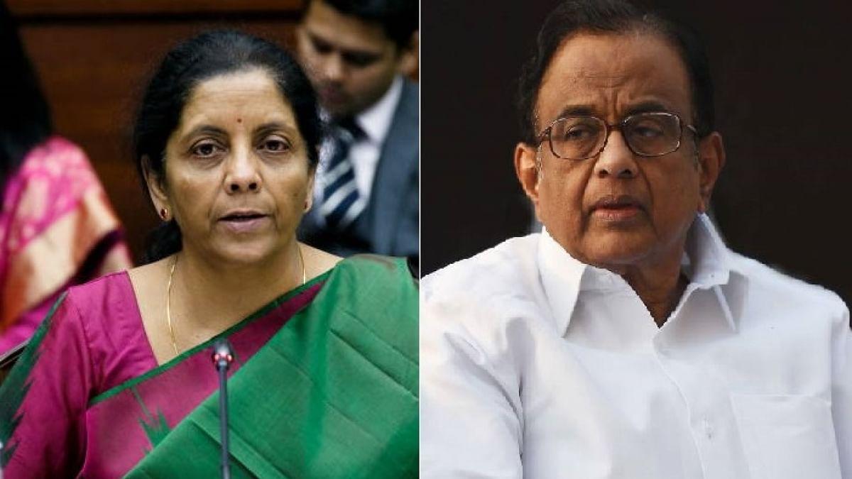 रक्षा मंत्री निर्मला सीतारमण, और वरिष्ठ कांग्रेसी नेता पी. चिंदबरम