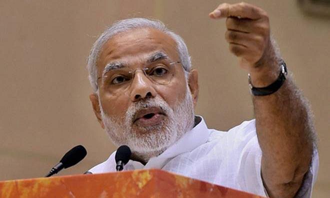 सेना ने आतंकियों और उनके मददगारों के नाश का संकल्प ले लिया है : PM मोदी