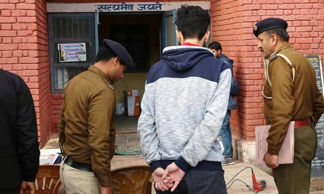 अब नहीं बख्सा जायेगा देश के साथ गद्दारी करने वालों को ! पुलवामा हमले की प्रशंसा करने वाला छात्र न्यायिक हिरासत में भेजा गया