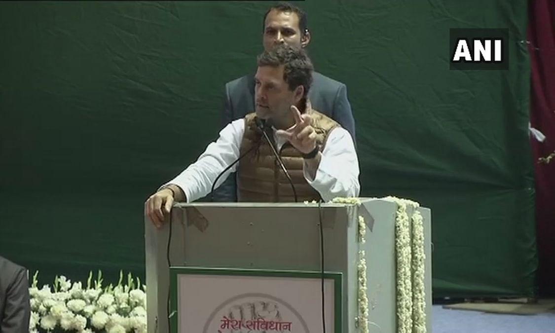 राहुल गांधी ने मोदी को बताया 'डरपोक', 10 मिनट तक डिबेट करने की दी चुनौती