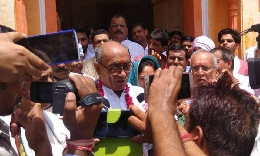 मध्य प्रदेश में कांग्रेस सरकार के 'सुपर चीफ मिनिस्टर' हैं दिग्विजय सिंह: भाजपा