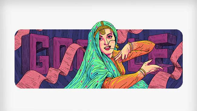 गूगल ने मधुबाला के जन्मदिन पर समर्पित किया डूडल
