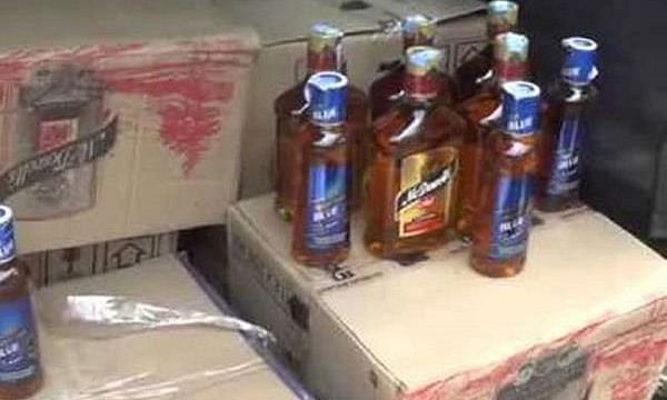 लखनऊ में 25 लाख रुपये की अवैध शराब के साथ 4 तस्कर गिरफ्तार