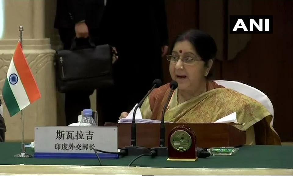चीन में सुषमा स्वराज: पाकिस्तान में पल रहा जैश कर रहा था दूसरे हमले की तैयारी, आतंकवाद के खिलाफ जीरो टॉलरेंस की नीति