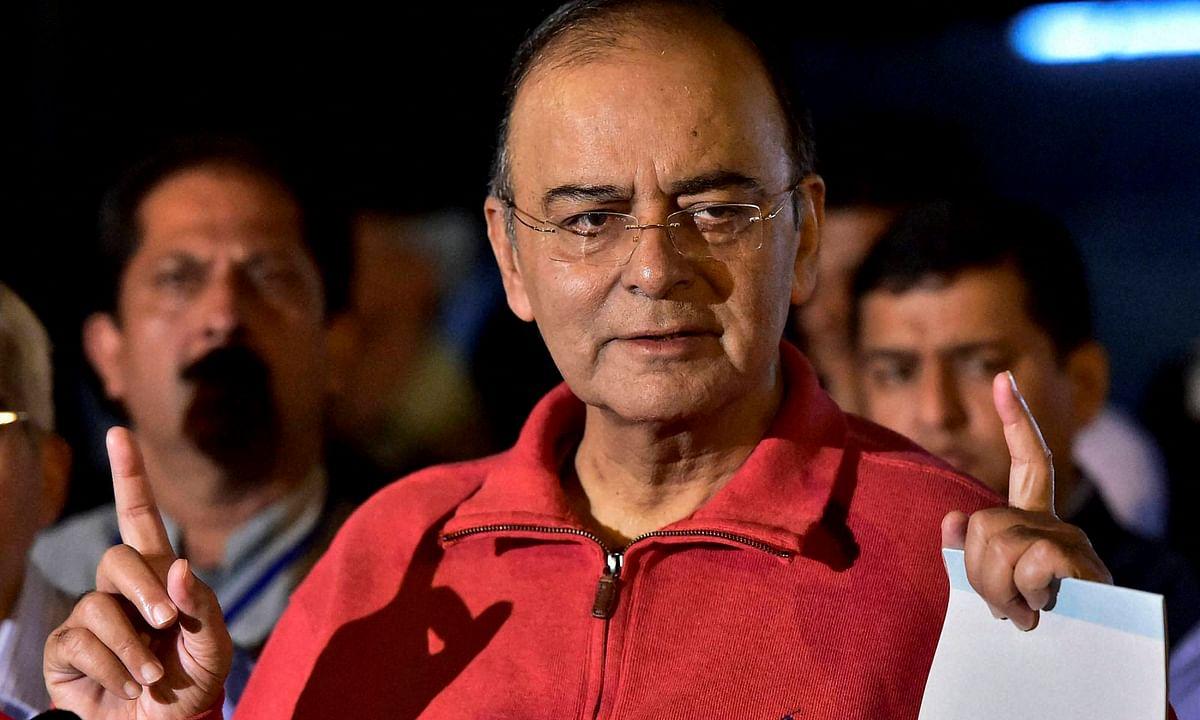 अरुण जेटली ने विपक्षी 'महागठबंधन' को बताया 'क्लेप्टोक्रेट्स क्लब' कहा- भारत पर कब्जा करने की है कोशिश