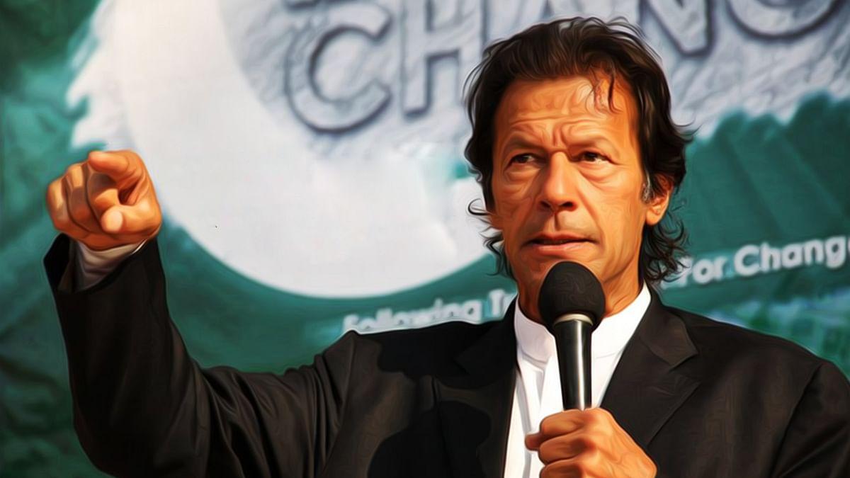 पूर्व पाकिस्तानी क्रिकेट खिलाड़ी और प्रधानमंत्री इमरान खान
